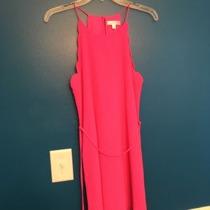Lost April Pink Lined Dress sz Small